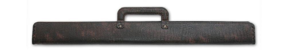 Кейс для бильярдного кия Cofr Croco бордовый купить в интернет-магазине БильярдМастер Украина