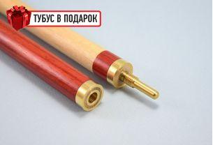 Бильярдный кий ручной работы Фараон паддук, черный тик купить в интернет-магазине БильярдМастер Украина