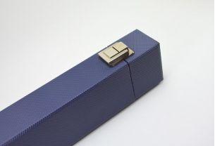 Футляр для бильярдного кия Romeo синий купить в интернет-магазине БильярдМастер Украина