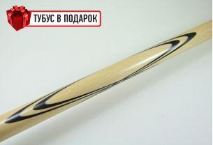 Бильярдный кий Тюльпан черный граб, упрощенный купить в интернет-магазине БильярдМастер Украина