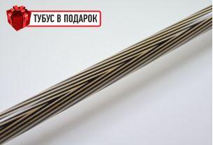 Бильярдный кий ручной работы Классик 6+12 черный граб купить в интернет-магазине БильярдМастер Украина
