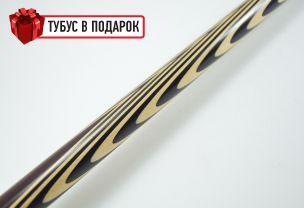 Бильярдный кий ручной работы Классик 6+12 кокоболо, черный граб купить в интернет-магазине БильярдМастер Украина