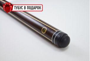Бильярдный кий ручной работы Классик 2+2 венге, длинный запил купить в интернет-магазине БильярдМастер Украина