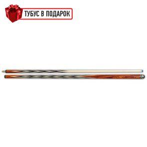 Бильярдный кий ручной работы Корона-4 кокоболо, черный граб купить в интернет-магазине БильярдМастер Украина