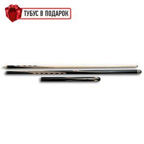 Эксклюзивный бильярдный кий ручной работы Классик 4+6 эбен+удлинитель купить в интернет-магазине БильярдМастер Украина