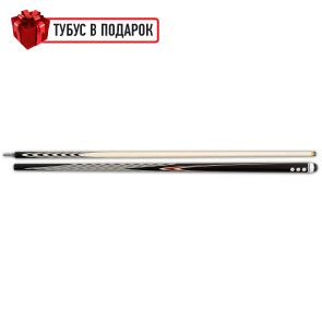 Бильярдный кий ручной работы Классик 6+10 черный граб купить в интернет-магазине БильярдМастер Украина