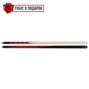 Бильярдный кий Классик 4+6 черный граб, паддук купить в интернет-магазине БильярдМастер Украина