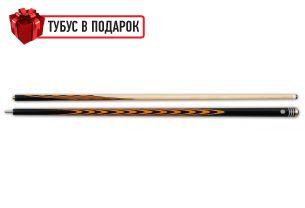 Бильярдный кий ручной работы Классик 5+10 черный граб, белинга купить в интернет-магазине БильярдМастер Украина