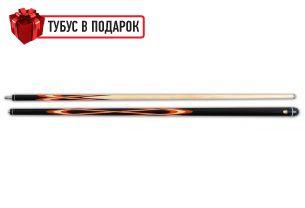 Бильярдный кий Тюльпан-Паутина черный граб, паддук купить в интернет-магазине БильярдМастер Украина