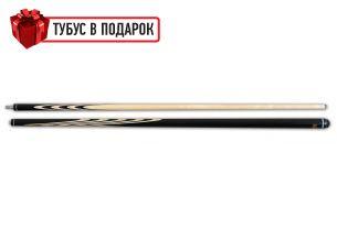 Бильярдный кий Классик 3+4 черный граб купить в интернет-магазине БильярдМастер Украина