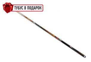 Бильярдный кий ручной работы Тюльпан черный граб, красный граб купить в интернет-магазине БильярдМастер Украина