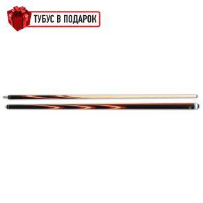 Бильярдный кий Попугай черный граб, паддук купить в интернет-магазине БильярдМастер Украина