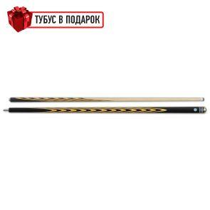 Бильярдный кий ручной работы Классик 7+11 черный граб, мовинга купить в интернет-магазине БильярдМастер Украина