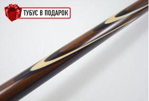 Бильярдный кий Попугай ипэ, черный граб купить в интернет-магазине БильярдМастер Украина