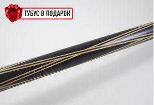 Бильярдный кий Тюльпан-Паутина черный граб купить в интернет-магазине БильярдМастер Украина