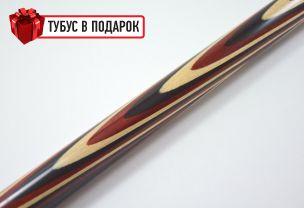 Бильярдный кий Классик 3+4 черный граб, трехцветный купить в интернет-магазине БильярдМастер Украина