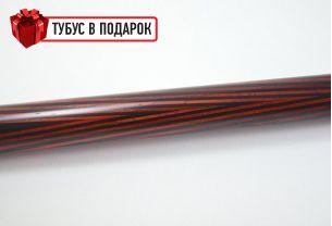 Бильярдный кий Классик 3+7 черный граб, паддук купить в интернет-магазине БильярдМастер Украина