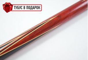 Бильярдный кий ручной работы Марс-2 черный граб, паддук купить в интернет-магазине БильярдМастер Украина