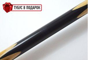 Бильярдный кий ручной работы Марс-2 черный граб, мовинга купить в интернет-магазине БильярдМастер Украина