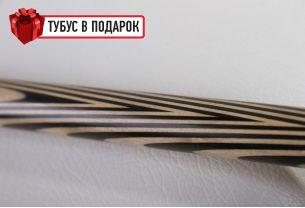 Бильярдный кий ручной работы Классик-2, 3+7 эбен купить в интернет-магазине БильярдМастер Украина