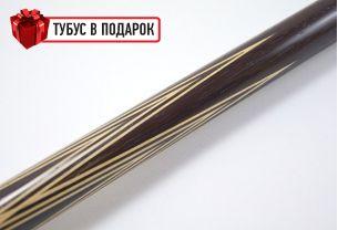 Бильярдный кий ручной работы Тюльпан венге купить в интернет-магазине БильярдМастер Украина