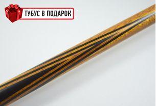Бильярдный кий Классик 2+4 белинга, черный граб купить в интернет-магазине БильярдМастер Украина