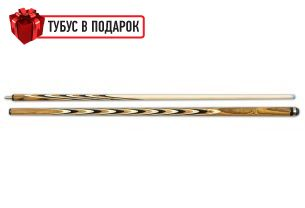Бильярдный кий ручной работы Классик 6+12 бокоте, черный граб, трехцветный купить в интернет-магазине БильярдМастер Украина