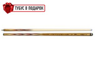 Бильярдный кий ручной работы Корона-4 бокоте, паддук, черный граб купить в интернет-магазине БильярдМастер Украина