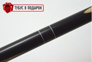 Бильярдный кий Классик 4+6 черный граб купить в интернет-магазине БильярдМастер Украина