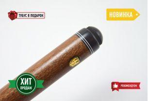 Бильярдный кий Тюльпан-Паутина сукупира, черный граб купить в интернет-магазине БильярдМастер Украина