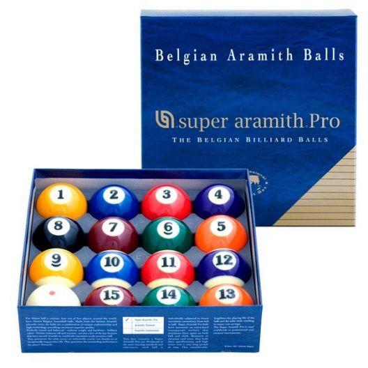 Шары для пула Super Aramith Pro ø57,2 мм. купить в интернет-магазине БильярдМастер Украина