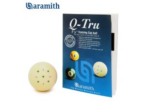Тренировочный бильярдный шар Aramith Q-Tru Pool ø57,2 мм. купить в интернет-магазине БильярдМастер Украина