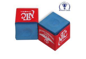 Бильярдный мел NTC синий купить в интернет-магазине БильярдМастер Украина