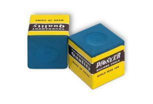 Бильярдный мел Pioneer синий купить в интернет-магазине БильярдМастер Украина