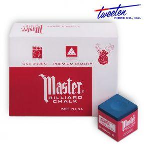 Бильярдный мел Master синий купить в интернет-магазине БильярдМастер Украина