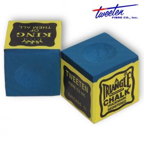 Бильярдный мел Triangle синий купить в интернет-магазине БильярдМастер Украина