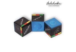 Бильярдный мел Balabushka синий купить в интернет-магазине БильярдМастер Украина