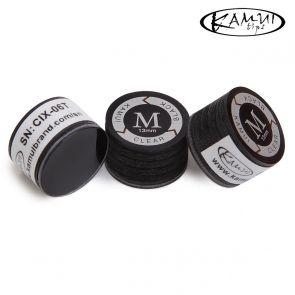 Наклейка для кия Kamui Clear Black M 13 мм купить в интернет-магазине БильярдМастер Украина