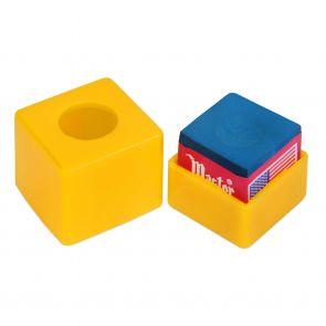 Пенал для мела пластиковый желтый купить в интернет-магазине БильярдМастер Украина