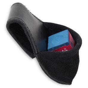 Пенал для мела кожаный с карманом купить в интернет-магазине БильярдМастер Украина