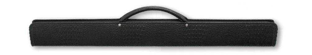Кейс для бильярдного кия Cofr Croco черный купить в интернет-магазине БильярдМастер Украина