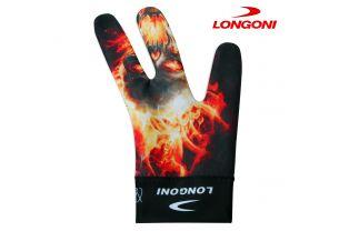 Бильярдная перчатка Longoni Fancy Fire купить в интернет-магазине БильярдМастер Украина
