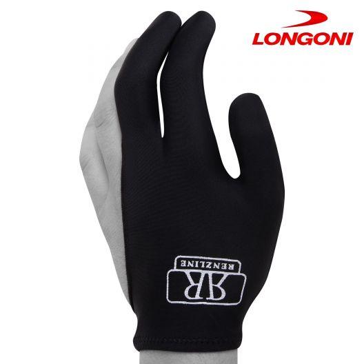 Бильярдная перчатка Renzline черная купить в интернет-магазине БильярдМастер Украина