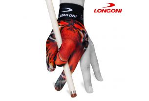 Бильярдная перчатка Longoni Fancy Tiger купить в интернет-магазине БильярдМастер Украина