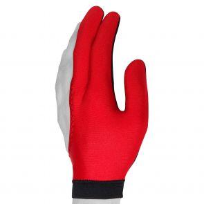 Бильярдная перчатка Skiba красная купить в интернет-магазине БильярдМастер Украина