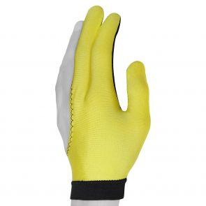 Бильярдная перчатка Skiba желтая купить в интернет-магазине БильярдМастер Украина