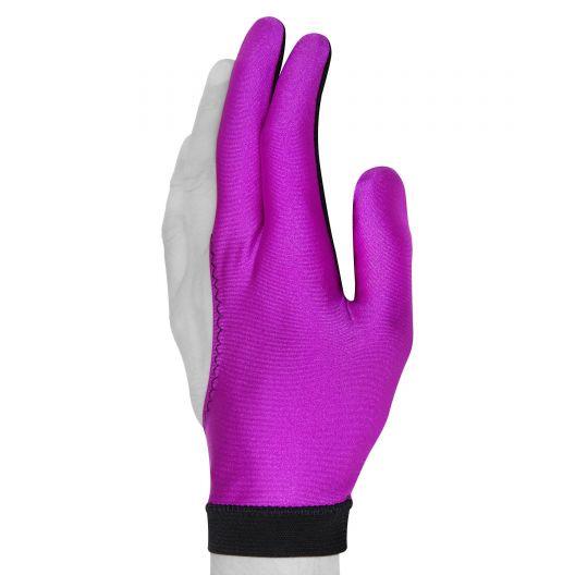 Бильярдная перчатка Skiba фиолетовая купить в интернет-магазине БильярдМастер Украина