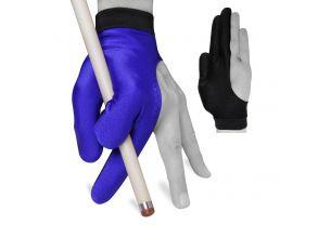 Бильярдная перчатка Skiba голубая купить в интернет-магазине БильярдМастер Украина