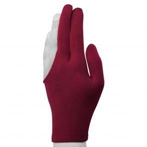 Бильярдная перчатка Classic бордовая купить в интернет-магазине БильярдМастер Украина