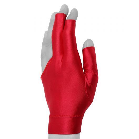 Бильярдная перчатка Classic Short красная купить в интернет-магазине БильярдМастер Украина